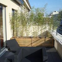 Rénovation immeuble de bureaux en appart-hôtel terrasse